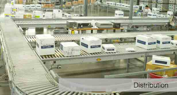 distribution center solutions